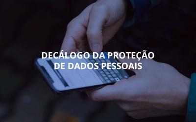 Decálogo da proteção de dados pessoais
